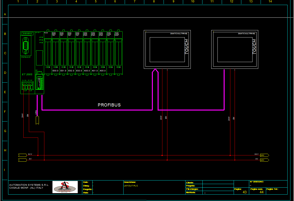 Cad Technical Drawings Automation Systems: cad system